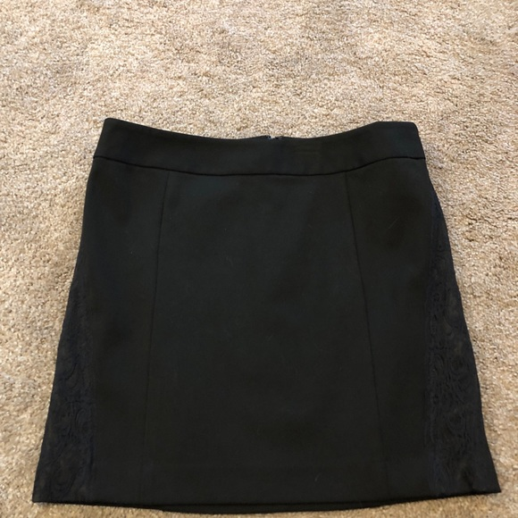 Express Dresses & Skirts - Express Short Black Skirt with Lace